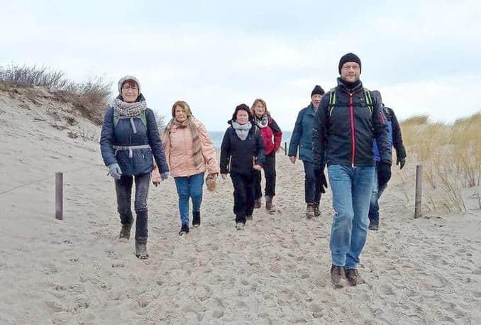 Fasten und Wandern an der Ostsee mit Wanderführer