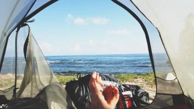 Minimalistisch Campen