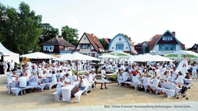 White Picknick / Bild: Kurverwaltung Ostseebad Boltenhagen Bernd Kühn