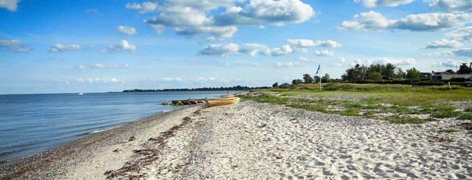 Strand an der dänischen Ostsee