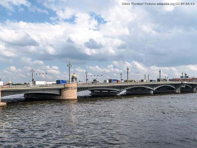 Blagoveschensky Brücke