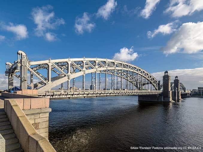 Bolsheokhtinsky Brücke
