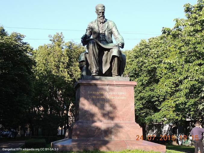 Denkmal Nikolaj Rimski-Korsakows