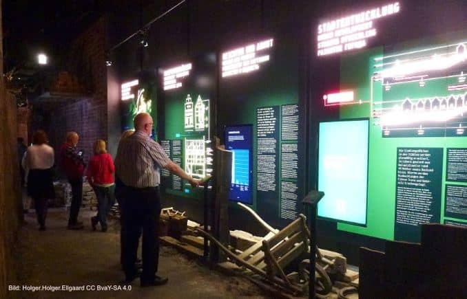 Europäisches Hansemuseum, Ausstellung
