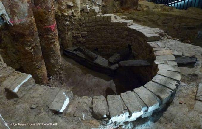 Europäisches Hansemuseum Grabungsstätte im Keller