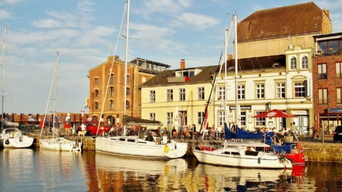 Hafen von Stralsund