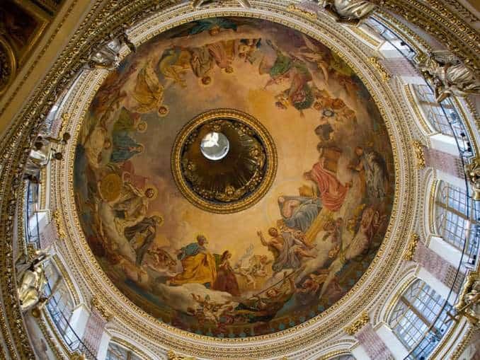 Isaakskathedrale Wandmalerei