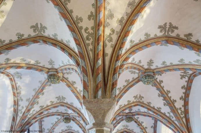 ©Olaf-Malzahn – Europäisches Hansemuseum Deckenbemalung Burgkloster /Pressebild