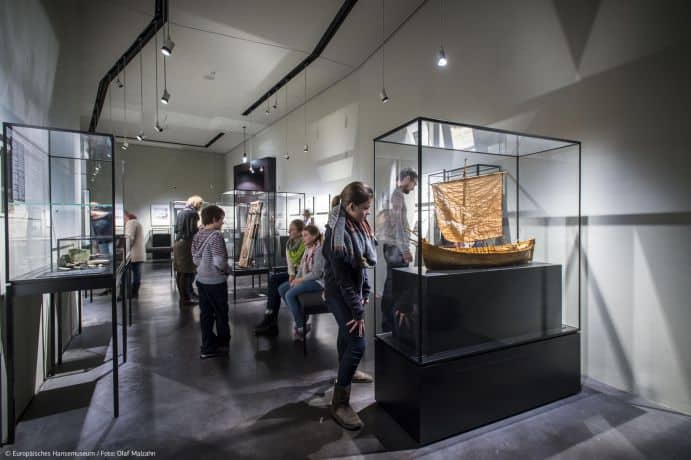 ©Olaf-Malzahn – Europäisches Hansemuseum Kabinett 1 /Pressebild