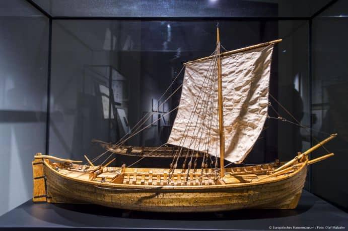 ©Olaf-Malzahn – Europäisches Hansemuseum Modell Kogge /Pressebild