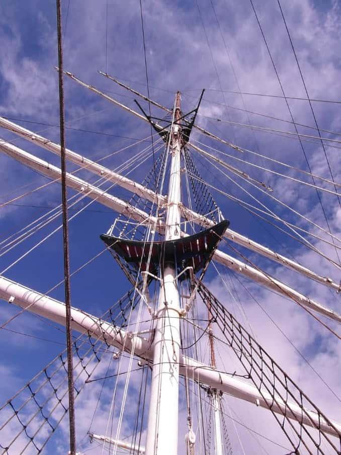 Masten der Gorch Fock