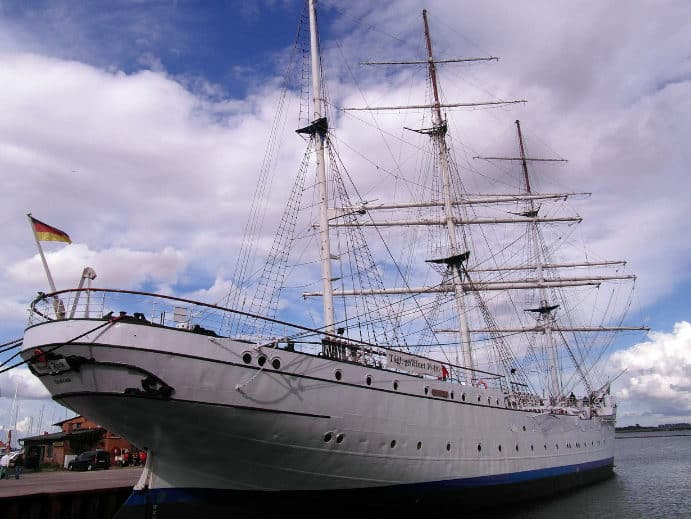 Museumsschiff Gorch Fock 1