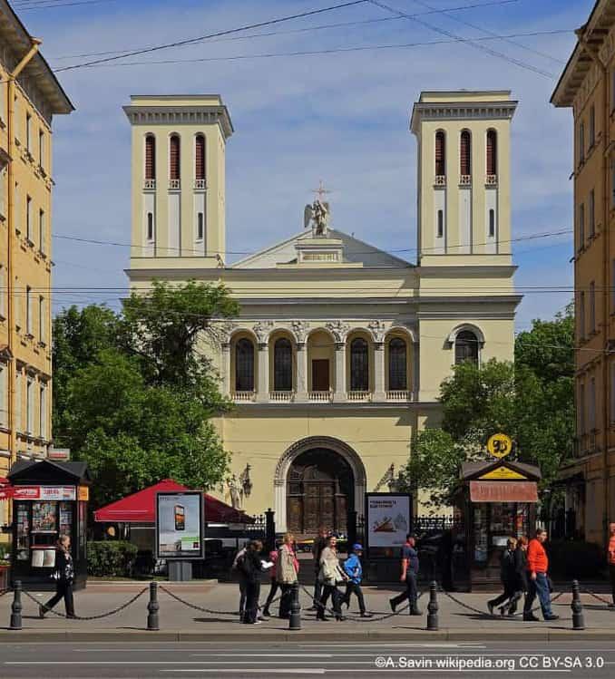 Petrikirche St Petersburg