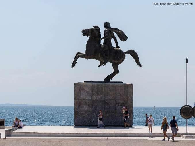 Senatsplatz mit ehrenem Reiter