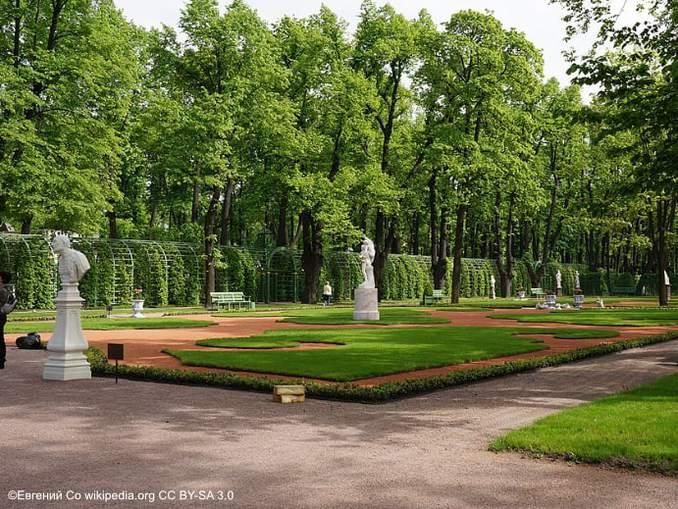 Sommergarten St Petersburg