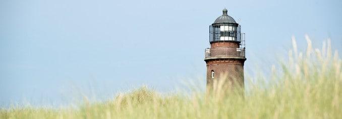 Leuchtturm Darß Ostsee Himmel Küste Strand Meer