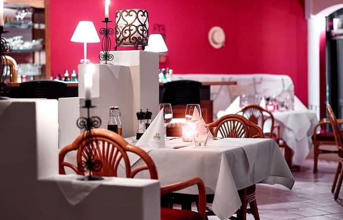Restaurant im Cliff Hotel / Pressebild: www.cliff-hotel.de