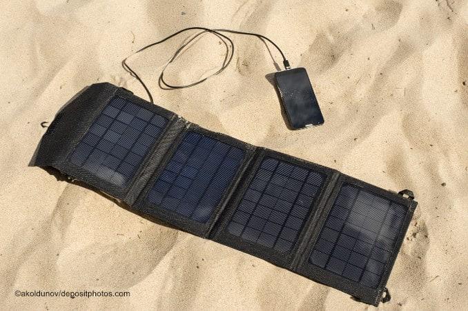 Robuste mobile Sonnenkollektoren für den Einsatz beim SandstrandSEO