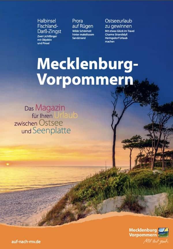 Ostsee Magazin Prospekt Mecklenburg Vorpommern