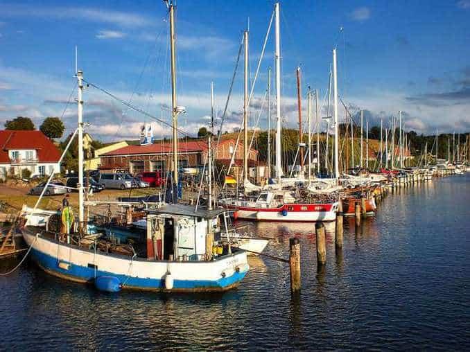 Hafen von Seedorf