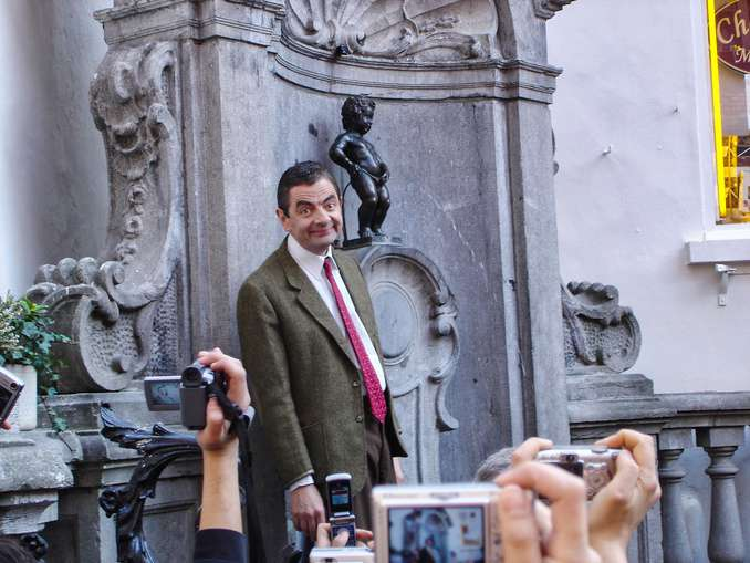 Mr Bean Bild: Antonio Zugaldia CC BY 2.0 (Wikipedia)