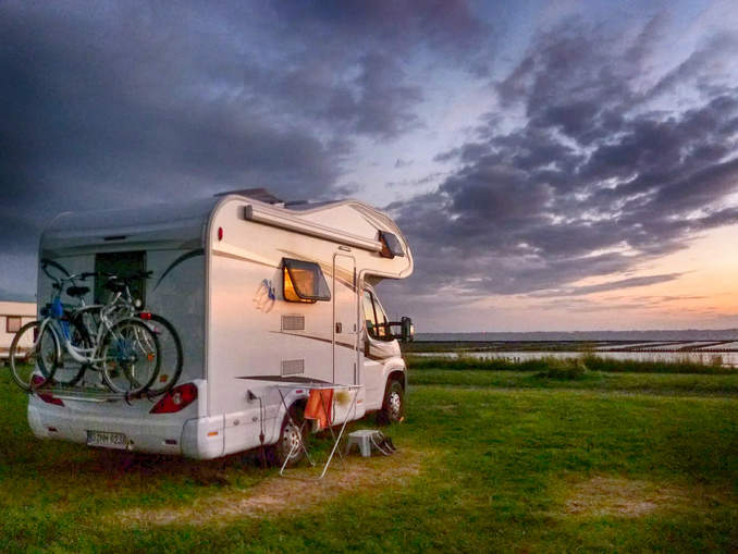 Stellplatz Camper