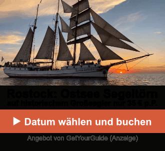 Rostock: Ostsee-Segeltörn