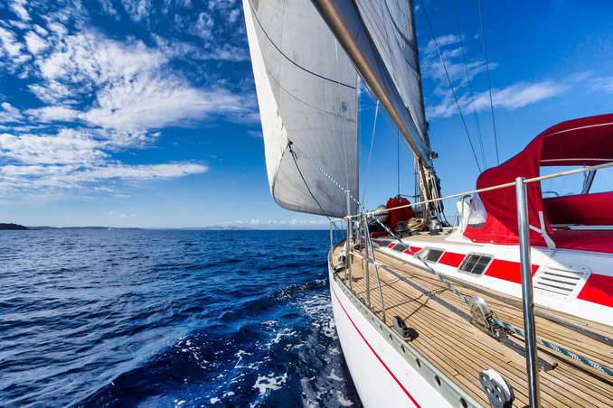 Segelboot auf der Ostsee ©ilfede/epositphotos.com