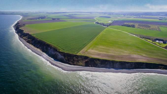 Gleitschirmfliegen Dänische Ostsee Luftsport