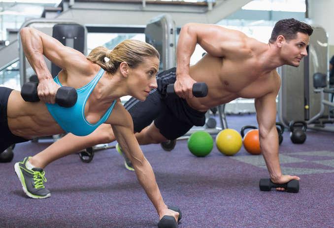 Spezielles Fitnesstraining ©Wavebreakmedia/depositphotos.com
