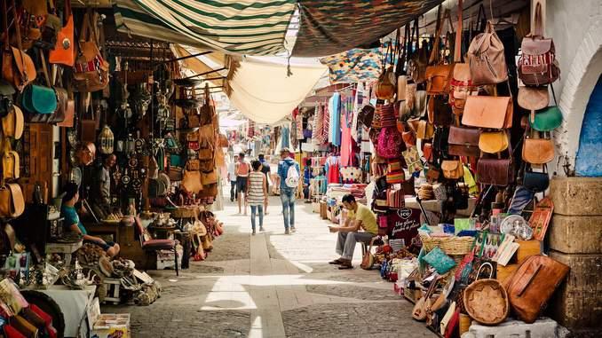 Souk Marokko